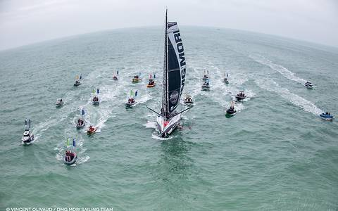 After 94 days, 21 hours, 32 minutes on the oceans, Kojiro Shiraishi has reached the finish line of the Vendée Globe.